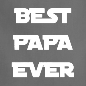Best Papa Ever Shirt - Adjustable Apron