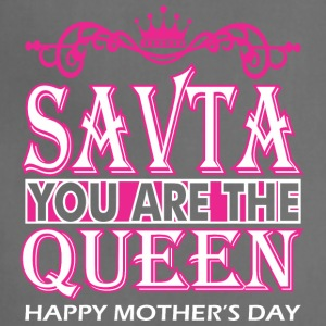 Savta You Are The Queen Happy Mothers Day - Adjustable Apron