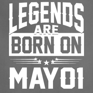 Legends are born on May 01 - Adjustable Apron