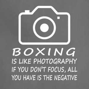 Boxing Like Photography-cool shirt,geek hoodie - Adjustable Apron