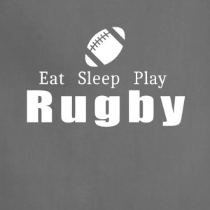 Eat Sleep Play Rugby- cool shirt,geek hoodie,tank - Adjustable Apron