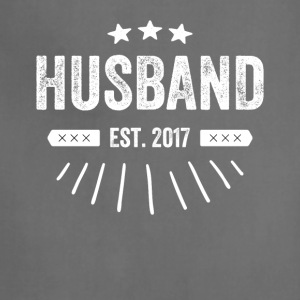 Husband est 2017 - Adjustable Apron