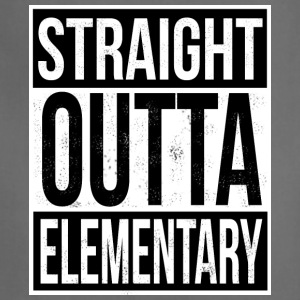Straight Outta Elementary - Adjustable Apron