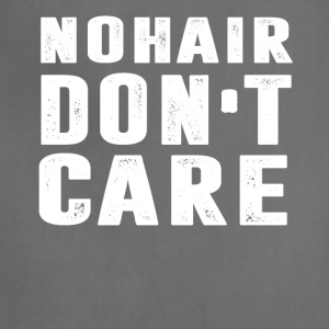 NO Hair Don't Care T-Shirt - Adjustable Apron