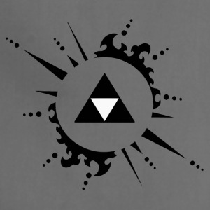 The legend of zelda Triforce vectorized - Adjustable Apron