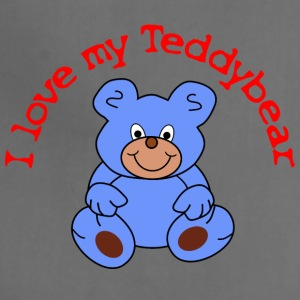 I love my Teddybear / Teddy bear - Adjustable Apron