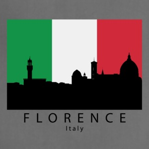 Florence Italy Skyline Italian Flag - Adjustable Apron