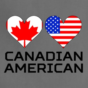 Canadian American Hearts - Adjustable Apron