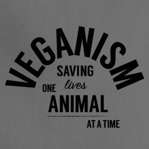 Veganism Saves Lives! - Adjustable Apron