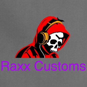 SKULL RAXX CUSTOMS logo red - Adjustable Apron