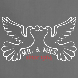 Mr And Mrs Since 1964 Married Marriage Engagement - Adjustable Apron