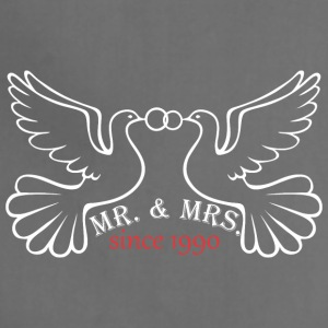 Mr And Mrs Since 1990 Married Marriage Engagement - Adjustable Apron