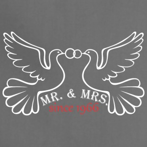 Mr And Mrs Since 1966 Married Marriage Engagement - Adjustable Apron