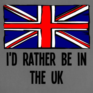 I'd Rather Be In the UK - Adjustable Apron