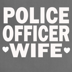 POLICE OFFICER WIFE - Adjustable Apron