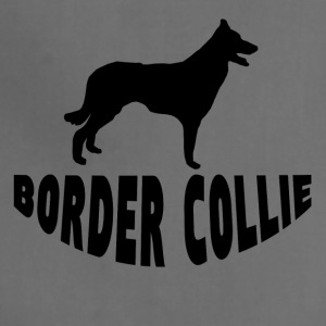 Border Collie Silhouette - Adjustable Apron