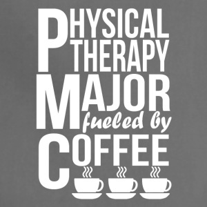 Physical Therapy Major Fueled By Coffee - Adjustable Apron