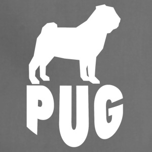 Pug Silhouette - Adjustable Apron