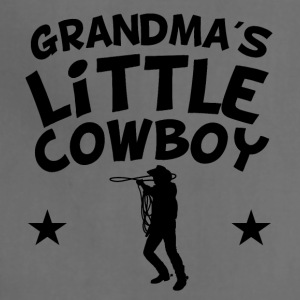 Grandma's Little Cowboy - Adjustable Apron