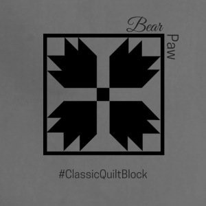 Bear Paw Quilt Block - Adjustable Apron