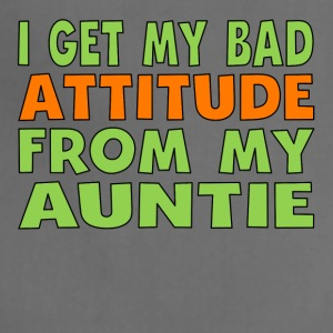 I Get My Bad Attitude From My Auntie - Adjustable Apron