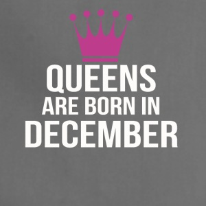 queens are born in december - Adjustable Apron