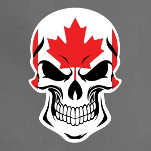 Canadian Flag Skull - Adjustable Apron