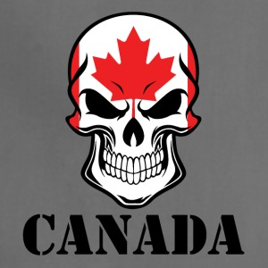 Canadian Flag Skull Canada - Adjustable Apron