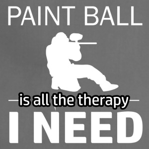 Paint Ball is my therapy - Adjustable Apron