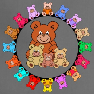 ring of teddies - Adjustable Apron