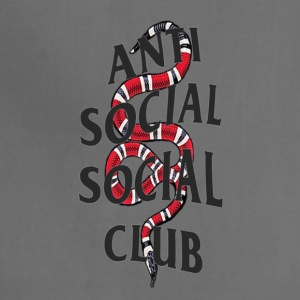 Anti social social club x snake - Adjustable Apron