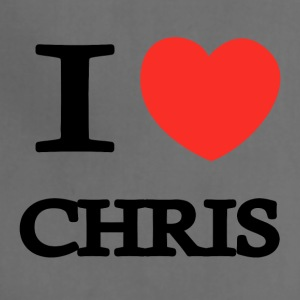 I Love Chris - Adjustable Apron