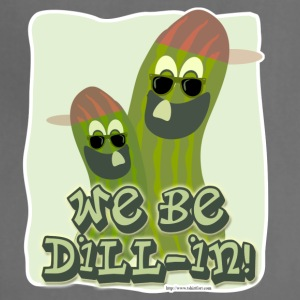 We Be Dillin Funny Pickle Pals - Adjustable Apron