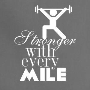 Stronger with every mile - Adjustable Apron