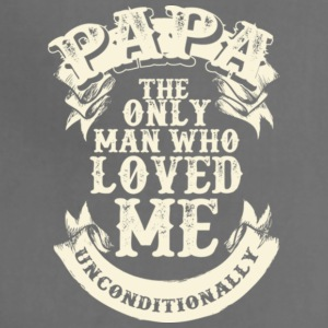 Papa Loves Me Unconditionally Father's Day - Adjustable Apron