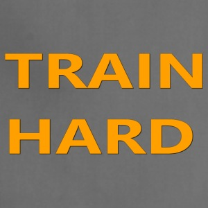 TRAIN HARD ORANGE - Adjustable Apron