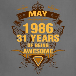 May 1986 31 Years of Being Awesome - Adjustable Apron
