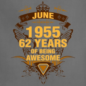 June 1955 62 Years of Being Awesome - Adjustable Apron