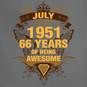 July 1951 66 Years of Being Awesome - Adjustable Apron