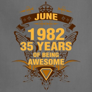 June 1982 35 Years of Being Awesome - Adjustable Apron
