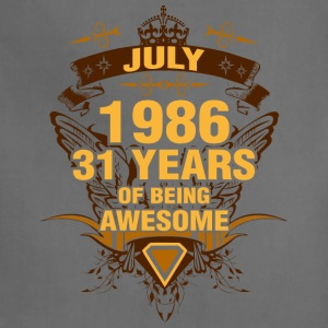 July 1986 31 Years of Being Awesome - Adjustable Apron