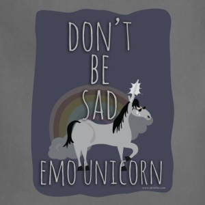 The Sad Emo Unicorn - Adjustable Apron