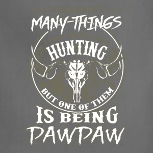 Love Hunting And Being Pawpaw Shirt - Adjustable Apron