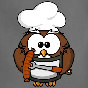 Funny Owl Barbeque Cook - Adjustable Apron