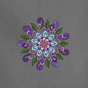 Purple Flower Mandala - Adjustable Apron