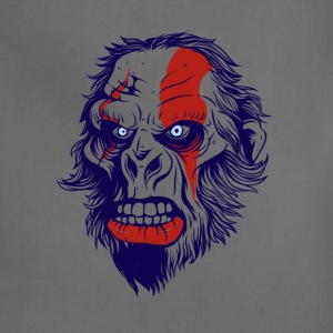 t shirt design 26 gorilla kratos by marekpl d - Adjustable Apron