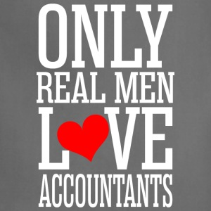 Only Real Men Love Accountants - Adjustable Apron