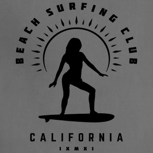 Beach Surfing Club California - Adjustable Apron