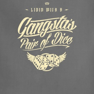 Gangstas Pair of dice - Adjustable Apron
