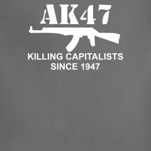 AK47 funny political weapons cool retro rude - Adjustable Apron
